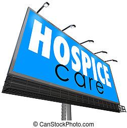 Hospice Care Billboard Advertise Home Nursing Medical Service