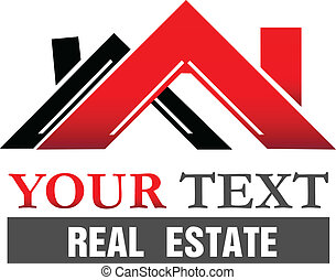 Houses for real estate company vector icon