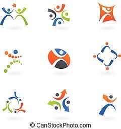 Human icons and logos 2