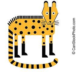 Hyena flat illustration