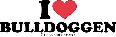 I love bulldogs german