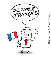 This businessman speak french