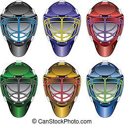 Ice Hockey Goalie Masks