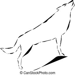 icon of wolf