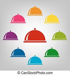 Icons colorfull set