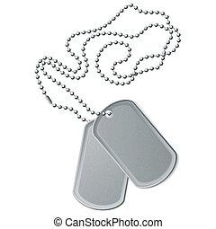 Vector illustration of identity tags