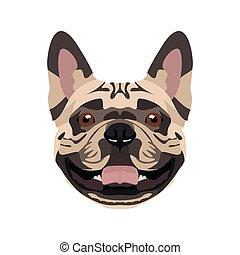 Illustration French Bulldog