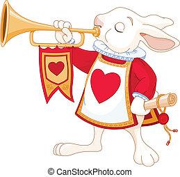 Bunny royal trumpeter