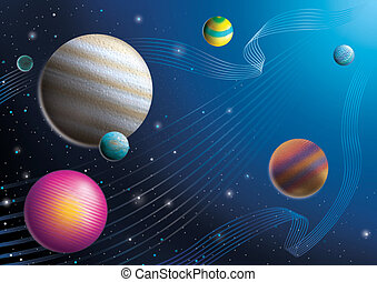 illustration of cosmos imagine