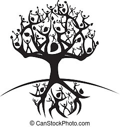 illustration of the tree of life