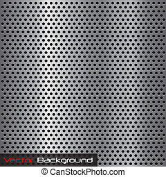Image of a silver steel grill metal texture.