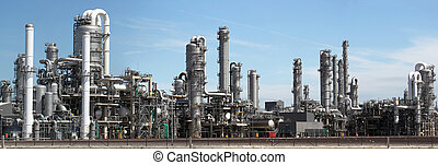 panorama image of Chemical factory
