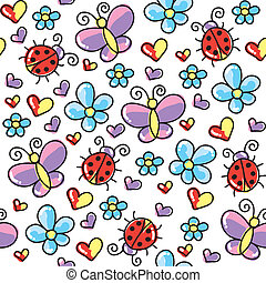 insects pattern