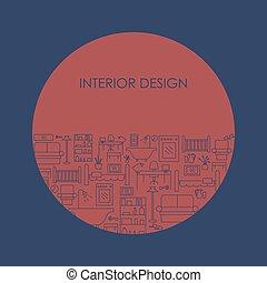 Interior design background
