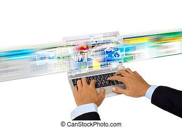 Internet for digital image Sharing