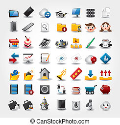 Internet & Website icons, Web Icons, icons Set