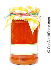 Isolated Jar of Maramalade