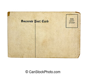 Isolated Old Postcard