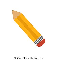 Isolated pencil Back to school