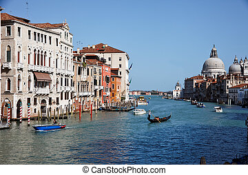 italy, venice, grand canal