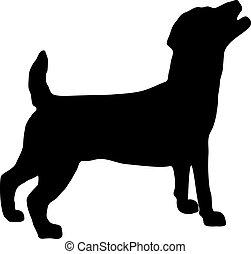 Jack Russel Terrier Silhouette