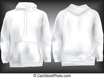 Jacket or sweatshirt or hoodie temp