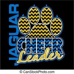 jaguar cheerleader