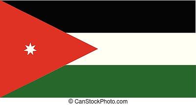 Jordan National Flag