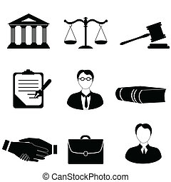 Law, legal and justice related symbols