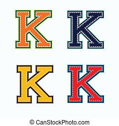 K college letter