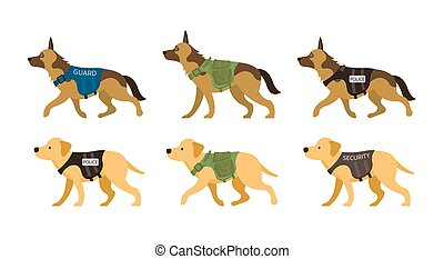 K9, Police, Military, Guard, Security Dogs