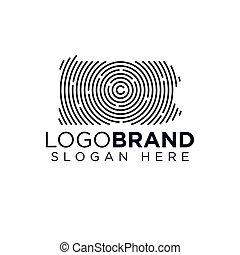 Kansas Scan logo template