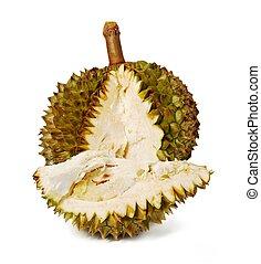 Durian. Giant Tropical Fruit.