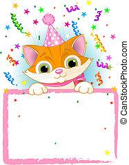 Kitten Birthday