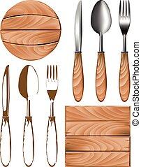 knife fork spoon tree