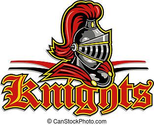 knights mascot design