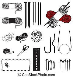 Knitting Icons