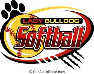 lady bulldog softball