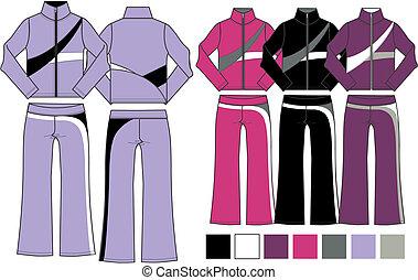 lady fashion 2 piece set