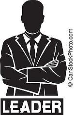 leader (successful businessman)