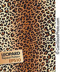 Leopard skin Repeat pattern