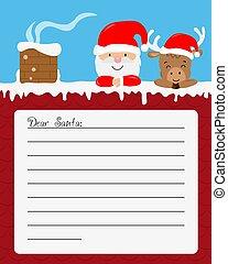 Letter for Santa Claus.