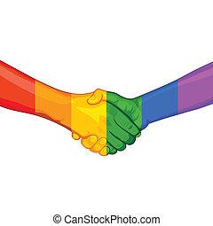 LGBT Awarness Concept