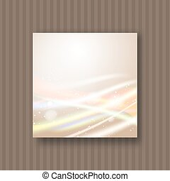 light strokes on yellow background