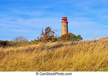 lighthouse Kap Arkona, Ruegen Island in Germany