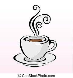 Line art coffee 4