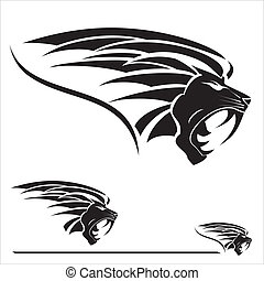 This Illustration vector symbolized the strength, protection, dignity, wisdom, etc. Suitable for corporate identity, team Mascot , team icon, community identity, product identity, illustration for apparel, clothing, book cover, etc.