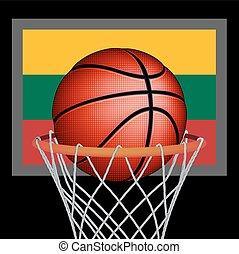 Lithuanians basket ball