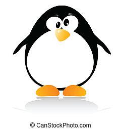 little penguin illustration