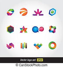 logo colorfull set
